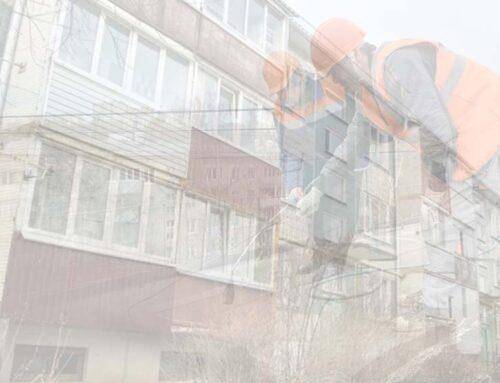 В Псковском районе успешно проводят капремонт домов