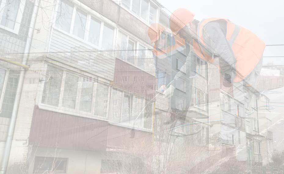 В Псковском районе проводят капремонт домов с опережением графика